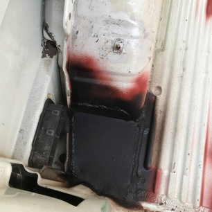 Vw t4 floor welded